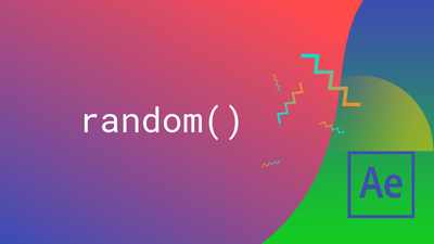 How to Use the Random Expression in After Effects