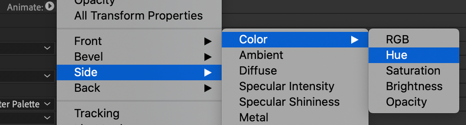 SOM-How to change side color of 3D Text in After Effects.png
