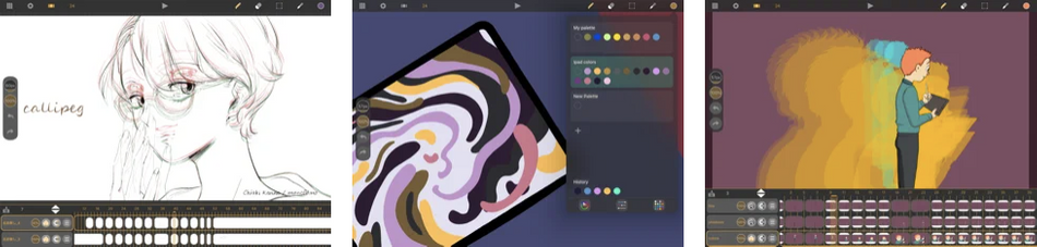Callipeg ipad animation app review.png