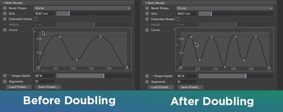 Curve Bevel Doubling - Cinema 4D R21 .png