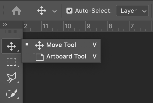 Artboard tool Photoshop.png