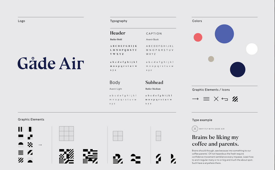 Branding and design elements for Gade Air.png