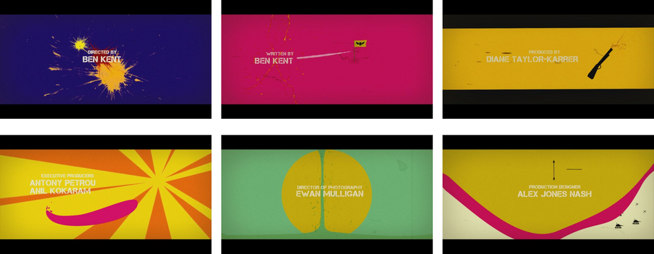 Propsal frames for Killer Weekend motion graphics opening titles created by Van Velvet.png