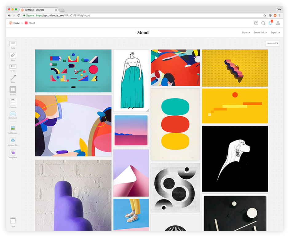 Great Mood Board Tools For Motion Designers