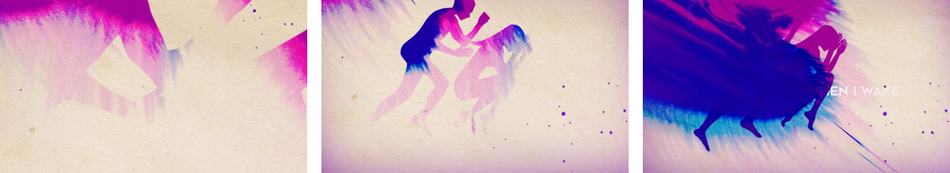 Example of using flowing ink in motion graphics for a music video by Van Velvet.png