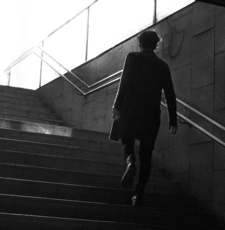 Strong woman walking into the light on her growth journey - Van Velvet.jpeg
