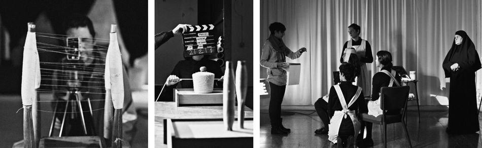 Behind the Scenes of Mariel shooting on an 8mm film by Van Velvet.png