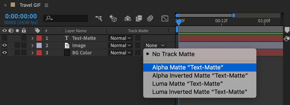 How to Use Track Mattes in After Effects
